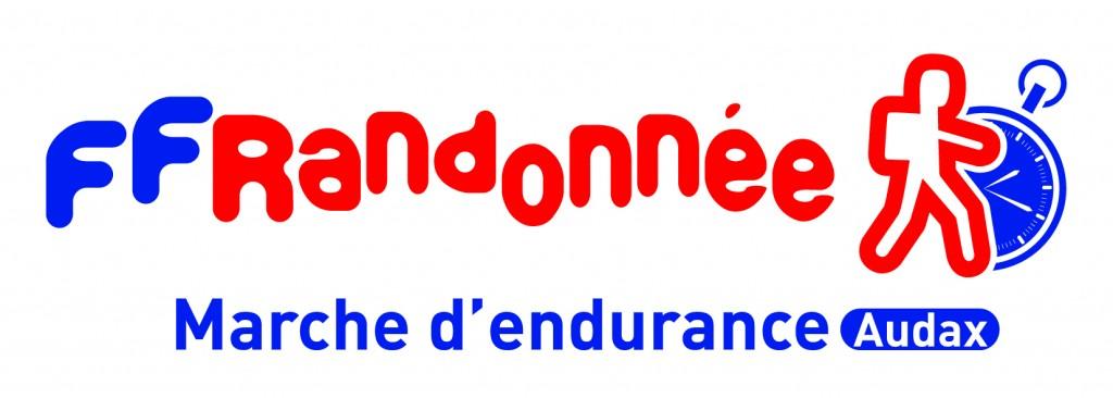 Logo Audax Marche endurance coul