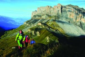 FFRandonnee montagne randonneurs GR