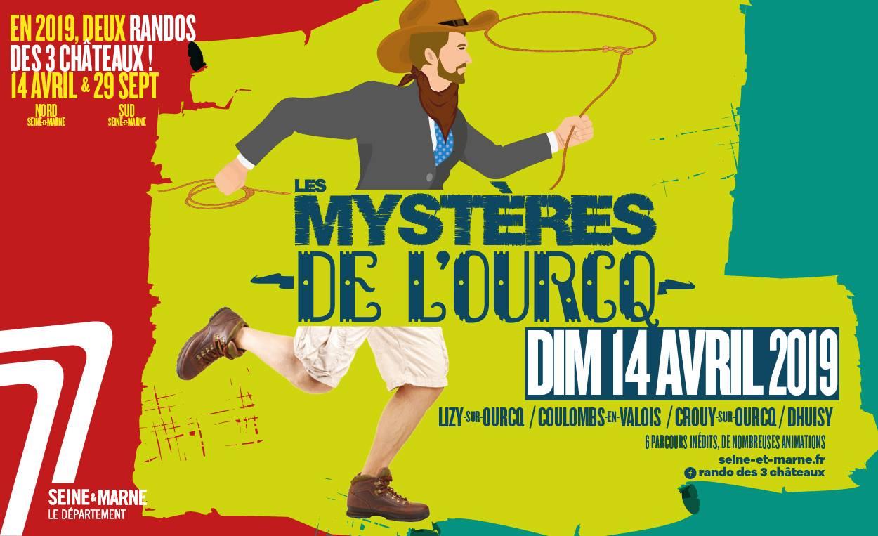 LA RANDO DES 3 CHÂTEAUX : LES MYSTÈRES DE L'OURCQ