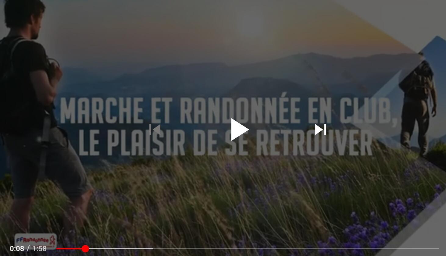 FFRANDONNEE RENTREE 2020 COVID